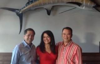 Restaurateurs, Eric and Victor Nguyen of Blue Crab, Pho Noodle, et. al.