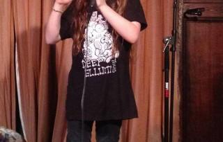 9 year old comedian Saffron Herndon