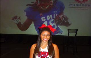 Southern Methodist University announces partnership with Unequal Technologies at SMU 2014 Football Kickoff Luncheon - Mandatory Photo Credit, Matt Thornton