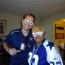 Matt Thornton and Dallas Cowboys Super Fan Ms. Carolyn Price - Dallas Entertainment Journal