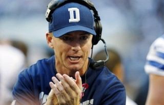 Dallas Cowboys Head Coach Jason Garrett looks to continue to improve the Cowboys in 2014.