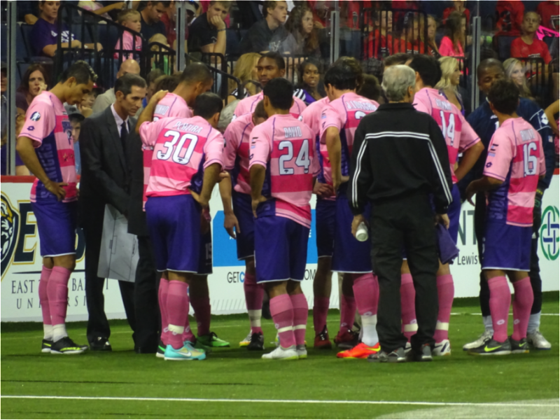 Dallas Sidekicks vs Missouri Comets in the Major Arena Soccer League Season Opener October 25, 2014 - Mandatory Credit Matt Thornton