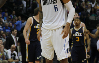 Tyson Chandler and the Dallas Mavericks defeat Utah Jazz in Home Opener October 30, 2014. Mandatory Photo Credit - Dallas Entertainment Journal