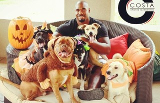 Dallas Cowboys Players and Costa Sports Marketing Support Dog Rescue with 2015 Calendar Benefiting Local DFW Rescue Groups