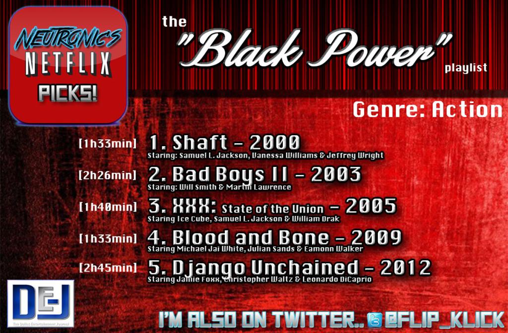 netflix picks black power