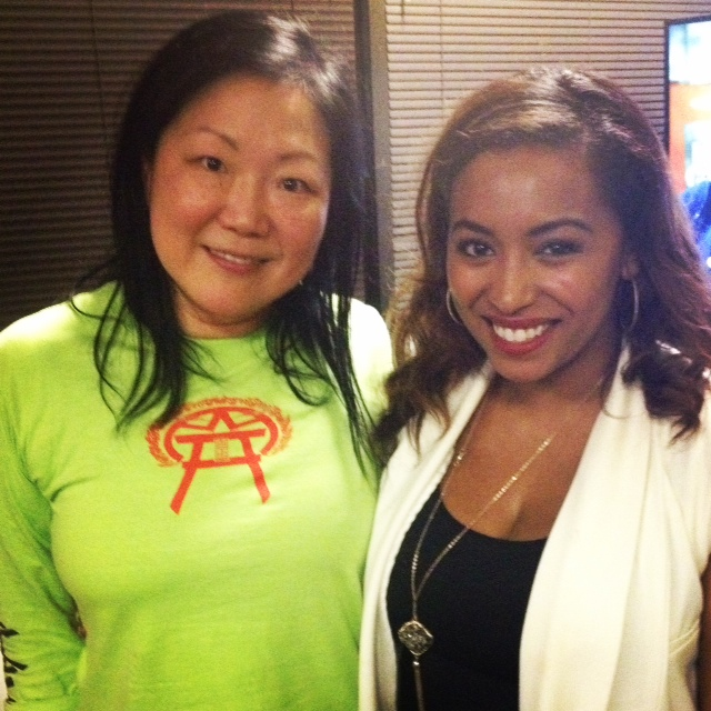 Margaret Cho with De-J's Jasmine Ellis