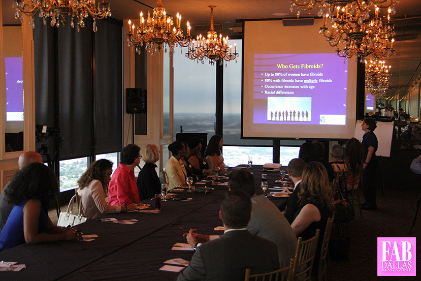 Dallas Entertainment Journal Everything Entertaining in Dallas Doctor Helps Raise Fibroid Awareness Tower Club