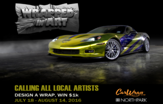 Car Wrap City Bolt PR Dallas Entertainment Journal Car Wrap Contest